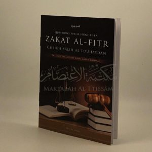 Question sur le jeûne et la zakat al-fitr
